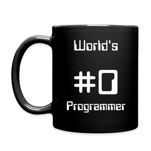 World's #0 Programmer - Full Color Mug
