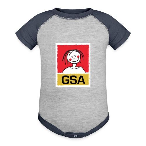 GSA Baby Onsie - Contrast Baby Bodysuit