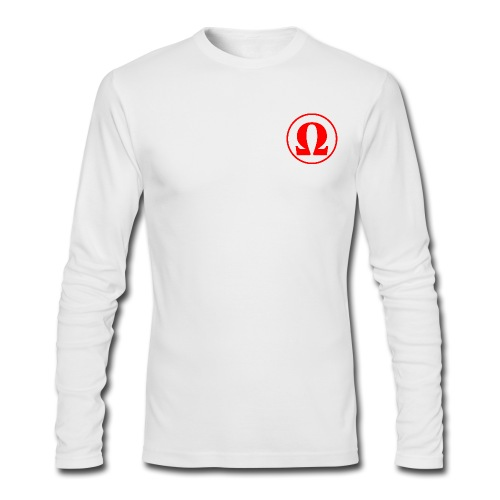 The End Media Logo Long Sleeve Shirt - Men's Long Sleeve T-Shirt by Next Level