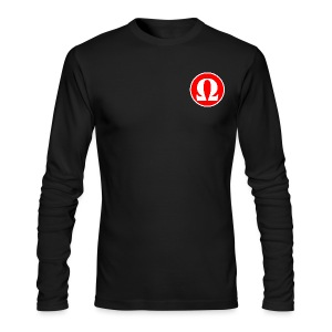 The End Media Logo (Inverted) Long Sleeve Shirt - Men's Long Sleeve T-Shirt by Next Level