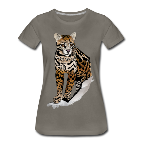 Amazing Cat - Women's Premium T-Shirt