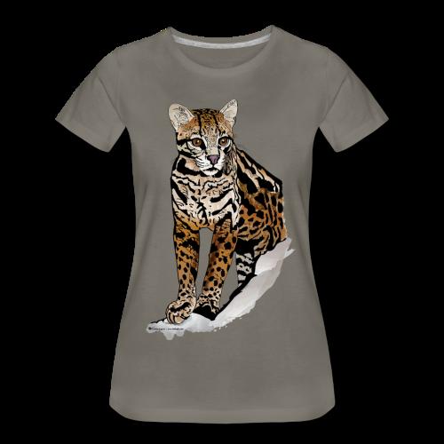 Amazing Cat - Women's Premium T-Shirt