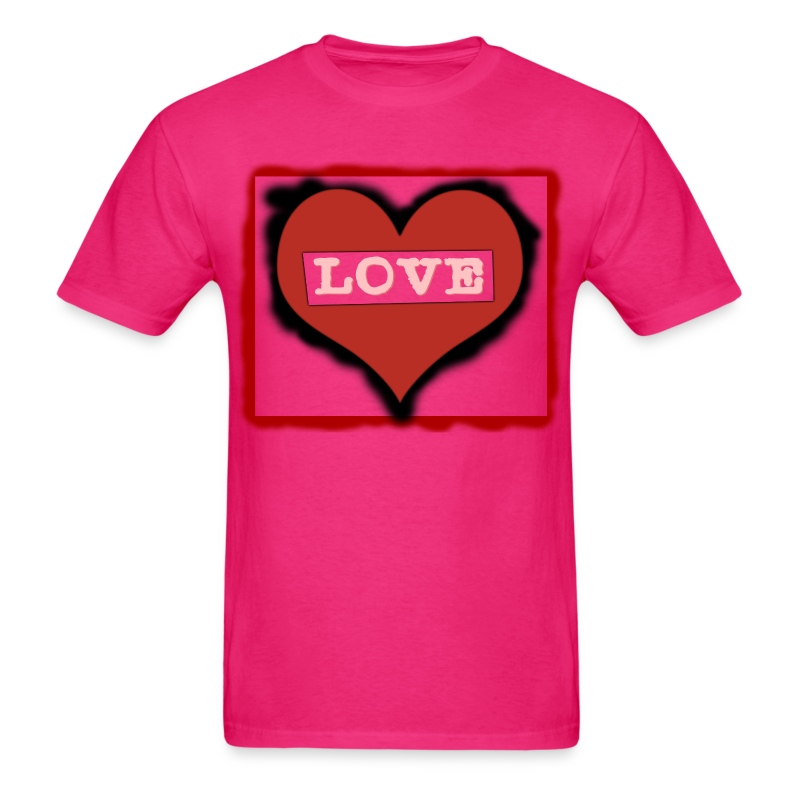 Love T-shirt Digital Version.png - Men's T-Shirt
