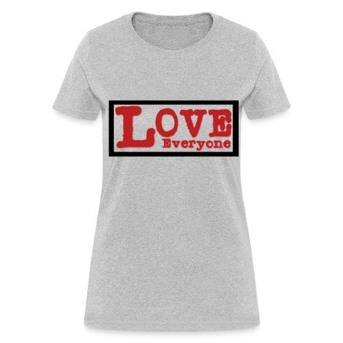 Love Everyone - Women - Women's T-Shirt