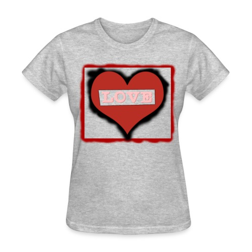 Love Heart - Men - Women's T-Shirt