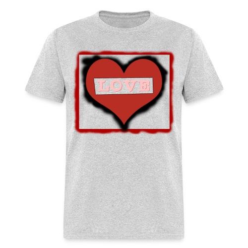 Love Heart - Women  - Men's T-Shirt