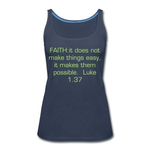 Faith - Women's Premium Tank Top
