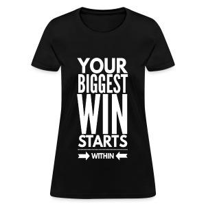Winning Within - Women's T-Shirt