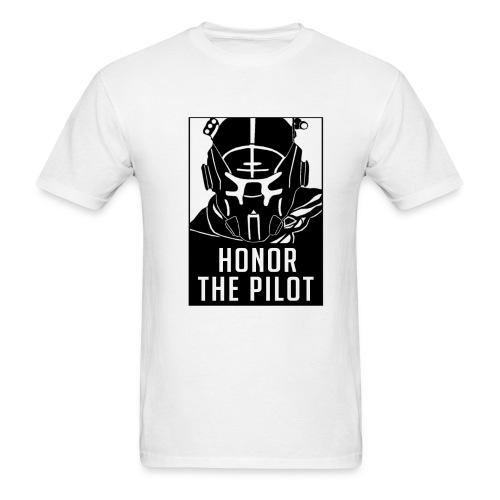 Honor the Pilot - Titanfall 2 (BLACK LOGO) - Men's T-Shirt