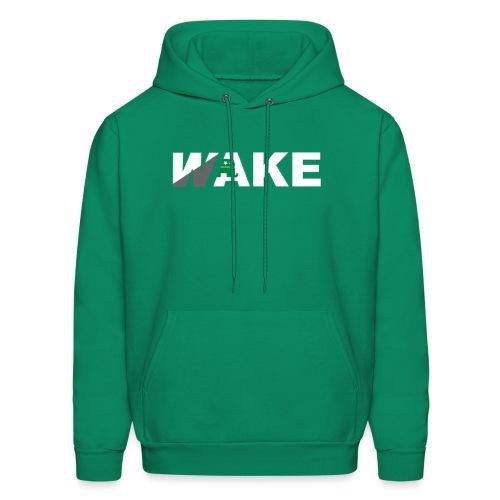 WAKE Hoodie (Green) - Men's Hoodie