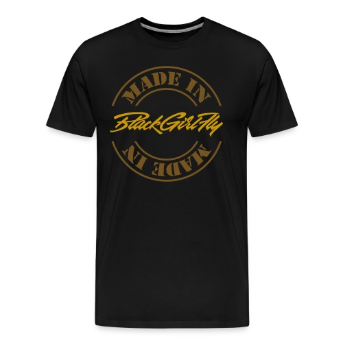 Made in America Gold Foil - Men's Premium T-Shirt