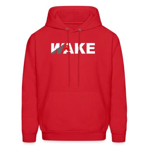 WAKE Hoodie (Red) - Men's Hoodie