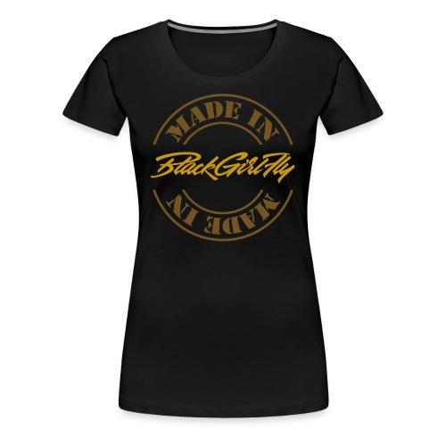 Women's Gold Foil - Women's Premium T-Shirt