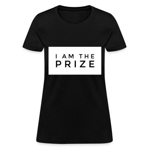 I AM The Prize Women's Confidence Tee - Black - Women's T-Shirt