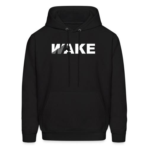WAKE Hoodie (Black) - Men's Hoodie