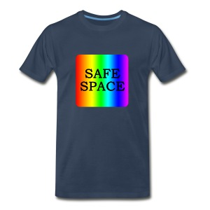 Safe Space Block - Men's Premium T-Shirt