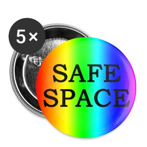 Safe Space Button - Small Buttons