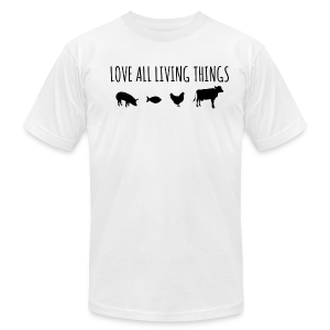 Men's Love All Living Things T-Shirt - Men's T-Shirt by American Apparel
