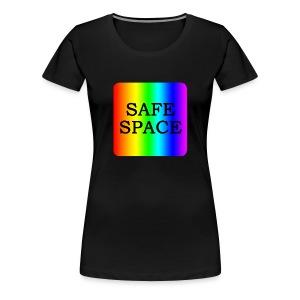 Safe Space Block - Women's Premium T-Shirt