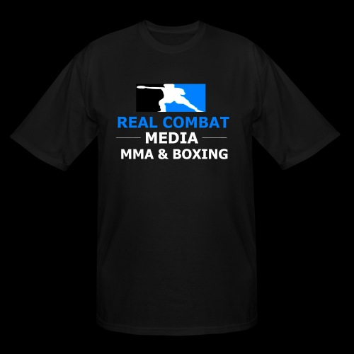 Real Combat Media MMA & Boxing Big & Tall T-Shirt - Men's Tall T-Shirt