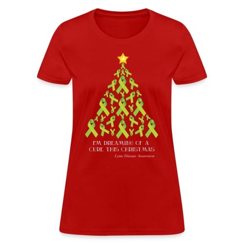 Women's Lyme Free Christmas Tee - Women's T-Shirt