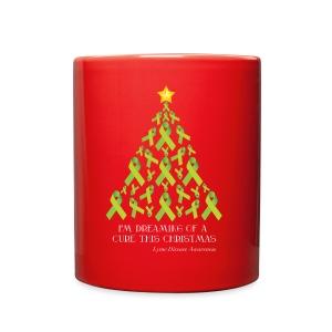 Lyme Free Christmas Mug - Full Color Mug