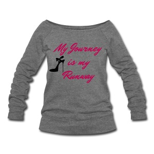 My Journey Women's Wideneck Shirt - Women's Wideneck Sweatshirt