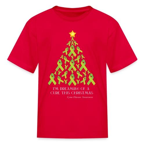 Kids Lyme Free Christmas Tee - Kids' T-Shirt