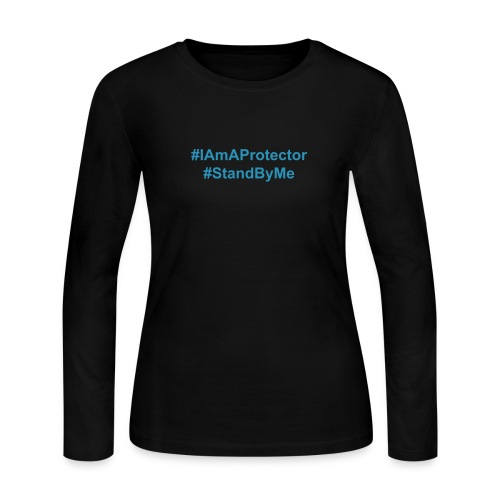 #IAmAProtector Women's Long Sleeve T-Shirt - Women's Long Sleeve Jersey T-Shirt