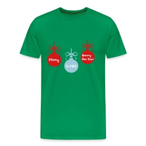 Happy New Year Merry XMAS Men's Premium T-Shirt - Men's Premium T-Shirt