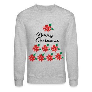 Ugly XMAS tree Christmas  Crewneck Sweatshirt  - Crewneck Sweatshirt