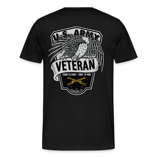 Old Army/Veteran (Infantry) - Men's Premium T-Shirt