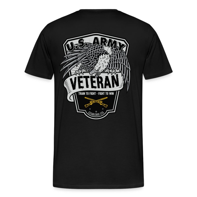 Old Army/Veteran (Infantry) - Men's Premium T-Shirt
