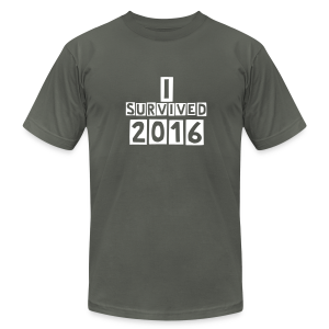 I survived 2016 - Men's Fine Jersey T-Shirt