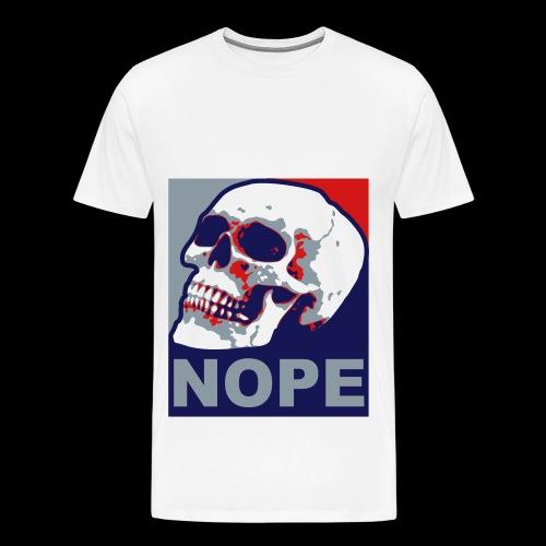 Nope T-shirt - Men's Premium T-Shirt