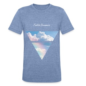Up in the Clouds 2 - Unisex Tri-Blend T-Shirt by American Apparel