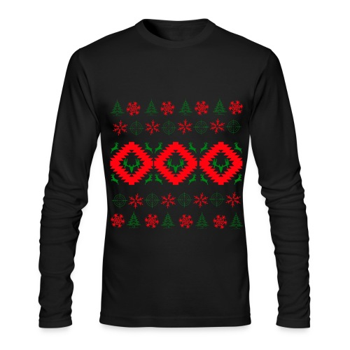 Ugly Christmas  - Men's Long Sleeve T-Shirt by Next Level