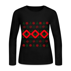 Ugly Christmas  - Women's Long Sleeve Jersey T-Shirt