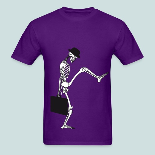 death silly walking mans - Men's T-Shirt