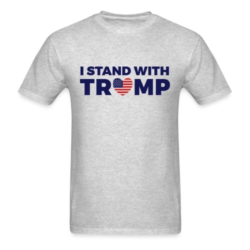I Stand With President Trump 2 - Men's T-Shirt