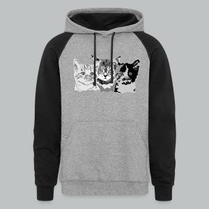 Kittens - Men's - Colorblock Hoodie