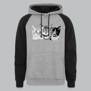Kittens - Men's - Colorblock Hoodie