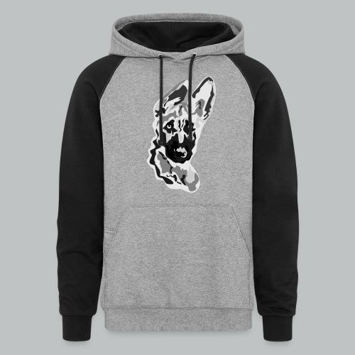 German Shepherd - Men's - Colorblock Hoodie
