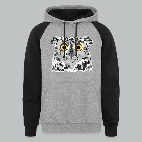 Owl - Men's - Colorblock Hoodie