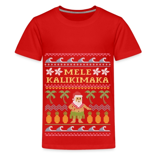 Hawaian Christmas! - Kids' Premium T-Shirt