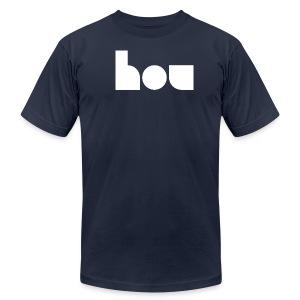 hou - Men's Fine Jersey T-Shirt
