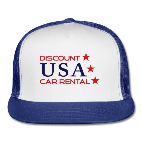 Discount USA Trucker Hat - Trucker Cap
