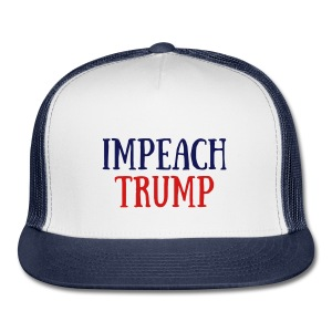 'Impeach Trump' Baseball Cap - Trucker Cap
