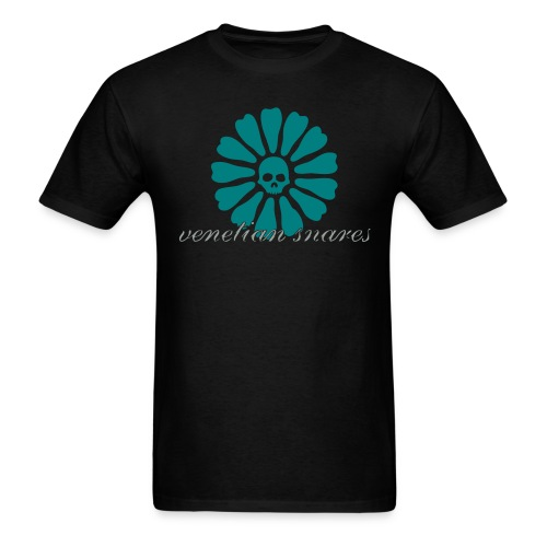 Venetian Snares Teal and Gray Men's T - Men's T-Shirt