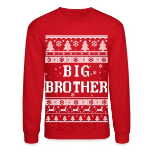 Big Brother Christmas Long Sleeve Shirts - Crewneck Sweatshirt